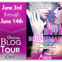 Blog Tour: Don't Bite the Bridesmaid by Tiffany Allee {Author Interview + Giveaway}