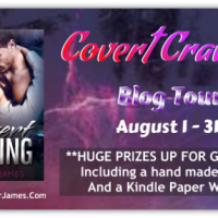 Blog Tour: Covert Craving by Jennifer James {Guest Vlog + Giveaway}