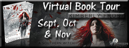 Virtual Book Tour: Would-Be Witch by Kimberly Frost {Guest Post + Giveaway}