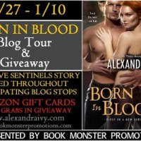 Blog Tour: Born in Blood by Alexandra Ivy {Sentinel Short Story + Giveaway}