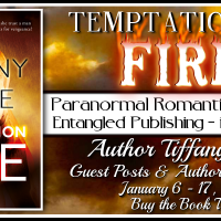 Author's Spotlight Tour: Temptation by Fire by Tiffany Allee {Guest Post & Giveaway}