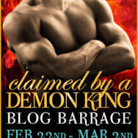 Claimed by a Demon King Blog Barrage & Giveaway