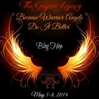 "The Grigori Legacy ""Because Warrior Angels Do It Better"" Blog Hop"