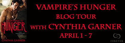 Blog Tour | Vampire's Hunger by Cynthia Garner {Guest Post & Giveaway}