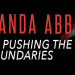AMANDA ABBOTT pushing the boundaries banner