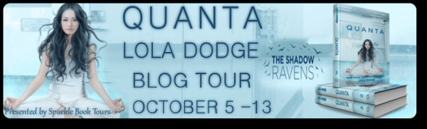 Blog Tour: QUANTA by Lola Dodge {Character Interview + Giveaway}